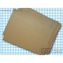 クラフト紙 B4サイズ 100枚(約0.10mm:70g/m2) (B4) denkon