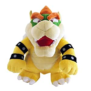 Together - PELNIN005 - Peluche - Nintendo - Mario Bross Wii Plush - Bowser - 26 cm
