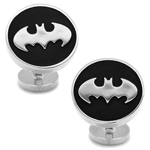 DC-Comics-Mens-Recessed-Black-Batman-Cufflinks-DC-BMR-BK