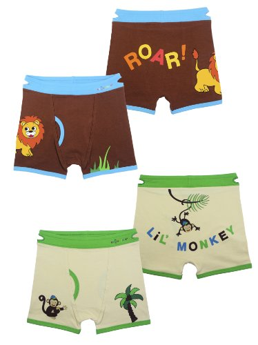 Toddler Training Underwear (Small, Lion & Monkey)