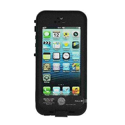 Sakura Favour store iphone5s ケース 防水 防塵 耐衝撃 指紋認証 指紋認証対応 lifeproof 指紋 衝撃 iphone5 ライフ バイク 衝撃 白 ストラップ iphone5s カバー 防水