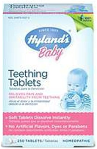 Lowest Prices! Hyland's Homeopathic Baby Teething Tablets 250 Tablets