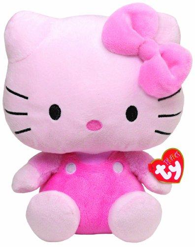 Imagen de Ty Pluffies Hello Kitty - Todo Pink