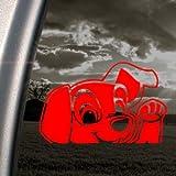 102 Dalmatians Red Decal Dog Disney 101 Window Red Sticker