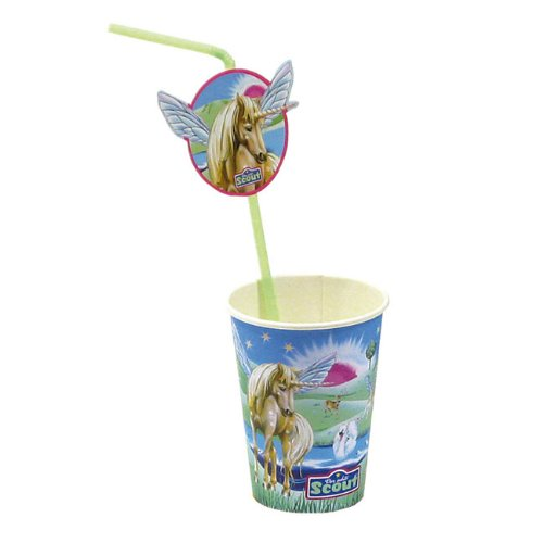 Papp-Becher Scout-Fantasy,0,26l, 8 St./Pack.250gsm