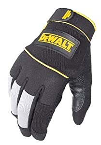 Dewalt DPG26M ToughTack Grip Palm Warehouse and Packaging Work Glove, Medium