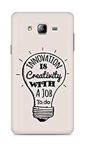 Amez Innovation is Creativity with a Job to do Back Cover For Samsung Galaxy ON7