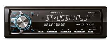 Pioneer MIXTRAX MVH-X560Ui Autoradio USB Bluetooth Noir