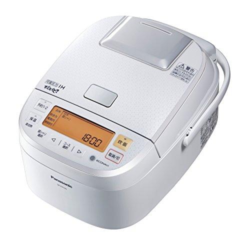 パナソニック おどり炊き 可変圧力IHジャー炊飯器 5.5合 ホワイト SR-PA105-W