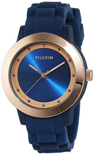 Pilgrim orologio analogico da donna, al quarzo, caucciù 701534220