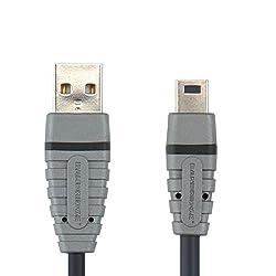 Bandridge (BCL4402) USB Mini 5-Pin Cable Usb-A M-Usb Mini 5Pin 2M
