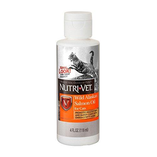 Nutri-Vet Alaska Salmon Oil For Cats, 4 Ounce