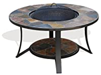 Deeco Consumer Products Arizona Sands Ii Fire Pit Table by Deeco Consumer Products Llc