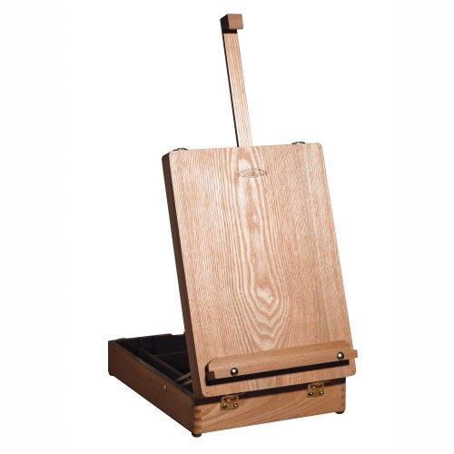 Winsor & Newton Medway - Caballete de mesa (62.2 cm, con caja, madera de olmo)