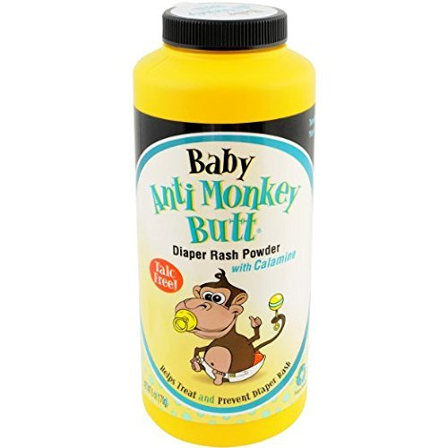 Baby Anti-Monkey Butt Body Powder (Pack of 3) - 1