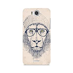 Ebby Lion with Glasses Premium Printed Case For InFocus M530