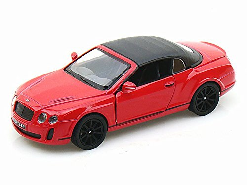 2010 Bentley Continental Supersports Convertible 1/38 Red w/ Top up