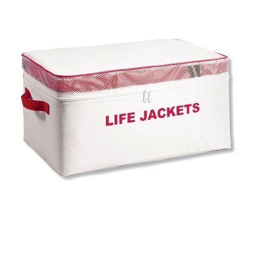 Type II Keyhole Life Jackets with Storage Bag by Airhead, Adult - Pack of 4 (Life Preserver Type 1 compare prices)