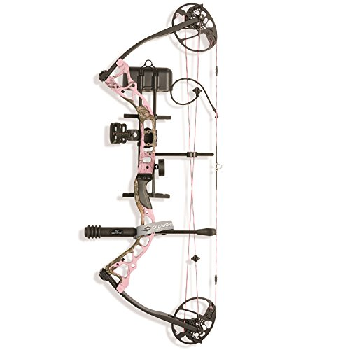 Diamond Archery Infinite Edge Pro Bow Package, Pink Blaze, Right Hand (Archery Package compare prices)