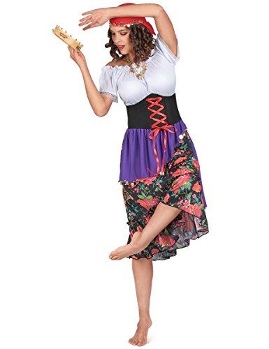 Boland 87382 - Kostüm Zigeunerin Rilana, Einheitsgröße 36-42