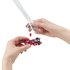 Hot Wheels Marvel Spidey's Spinning Web Swing Track Set from Mattel