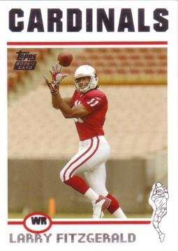2004 Topps Football #360 Larry Fitzgerald Rookie Card