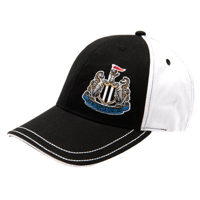 Official Newcastle United FC Baseball Cap - A great gift / present for men, boys, sons, husbands, dads, boyfriends for Christmas, Birthdays, Fathers Day, Valentines Day, Anniversaries or just as a treat for and avid football fan