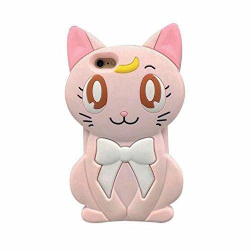 """iPhone 6S Plus Case,iPhone 6 Plus Case Express Prime Case, Phenix-Color 3D Cute Bear Cartoon Soft Silicon Gel Back Cover Case for iPhone 6/6S Plus (5.5"""")Case Amp Prime (#03)"""