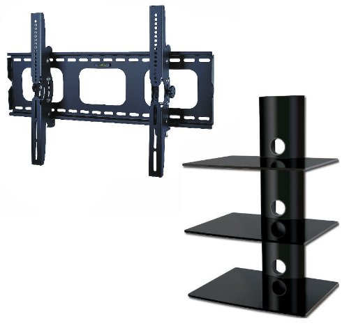 Promount Package Deal! Led Lcd Plasma Tv Wall Mount Bracket Eith Tilt For 32