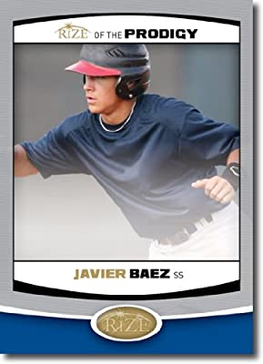 2012 RIZE Draft Prodigy Paragon Card #P-3 Javier Baez - Chicago Cubs (Rookie / Prospect Insert) MLB Baseball Trading Cards