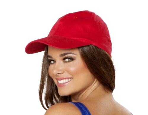 Roma Costume Women's Baseball Style Hat, Red, One Size