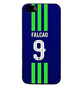 PRINTVISA Football Falcao Case Cover for Apple iPhone 4S