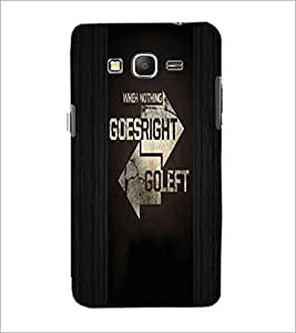 PrintDhaba Quote D-4945 Back Case Cover for SAMSUNG GALAXY GRAND PRIME (Multi-Coloured)