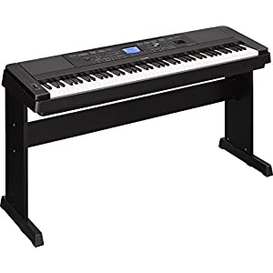 Yamaha DGX-660 88-Note Digital Piano, Black