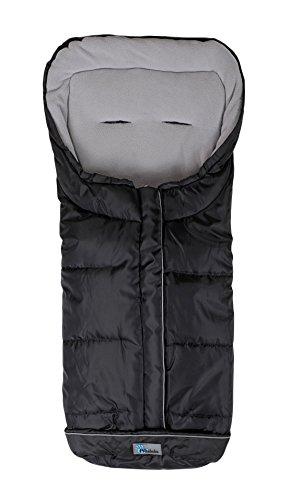 Altabebe AL2203XL-12 Active Lungo Sacco Termico Invernale per Passeggino XL, Nero/Grigio Chiaro, 12-36 Mesi