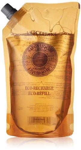 Shea Butter by L'Occitane Lavender Liquid Soap Eco Refill 500ml