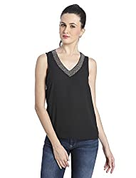 Only Women's Casual Top (_5712837614576_Black_38)