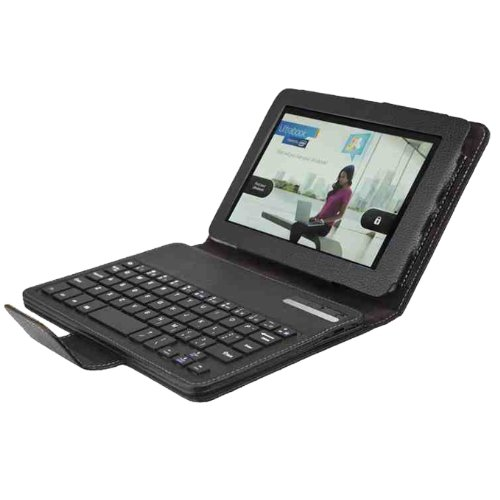 Wireless Bluetooth Keyboard Case Cover Stand For Amazon Kindle Fire HD 7