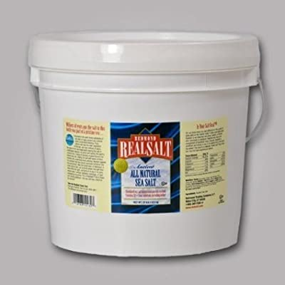 Redmond Trading Company Bulk Bucket Real Salt Granular, 10 Pound by Everready First Aid