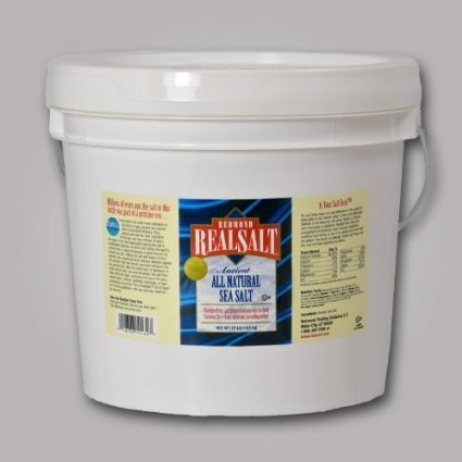 Redmond Trading Company Bulk Bucket Real Salt Granular, 10 Pound (Sea Salt Real Food compare prices)