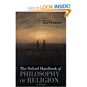 The Oxford Handbook of Philosophy of Religion William J. Wainwright