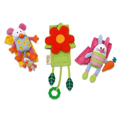 Pint Size Productions Activity Strappers (3pc Set)