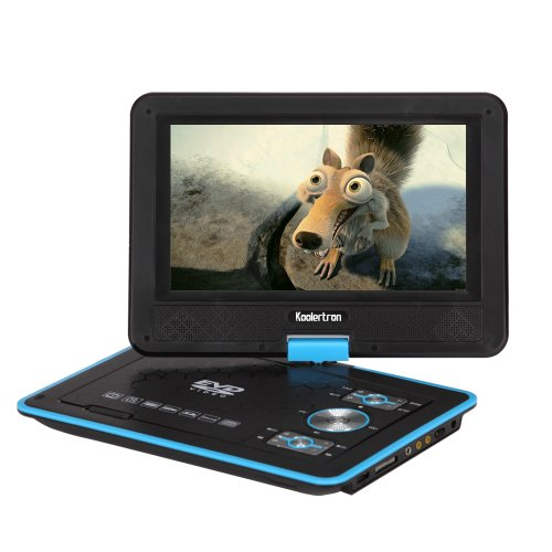 awrsat koolertron 9 zoll tragbarer dvd player dvd player. Black Bedroom Furniture Sets. Home Design Ideas