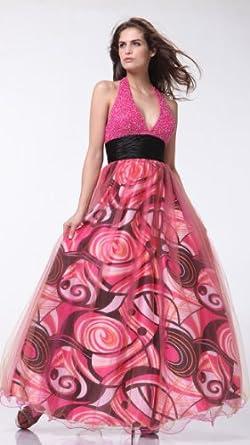 3060 ; Pink Prom Dress