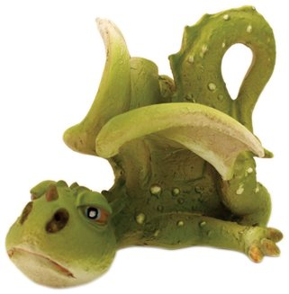 Top Collection Enchanted Story Fairy Garden Lazy Day Dragon Outdoor Statue (Resin Dragon Baby compare prices)