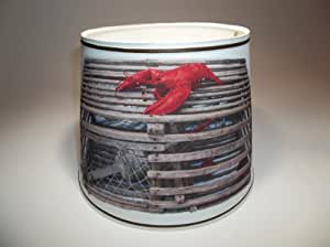 Lobster Trap on Lamp Shade