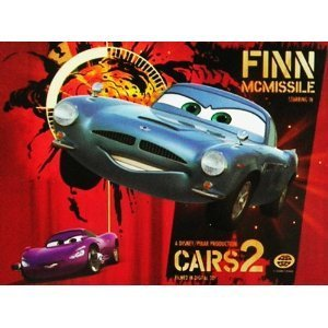 Disney Cars 2 Finn McMissle 48pc Puzzle