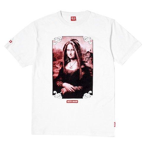 NESTA BRAND(ネスタブランド) 半袖 Tシャツ ジャマイカン モナリザ ストリート メンズ Mサイズ WHT ts1519sp-M-WHT