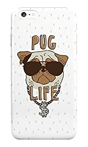 The Fappy Store Pug Life plastic Back Cover for iphone 6 plus