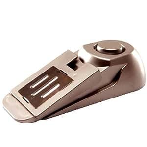 Bloque Porte - Cale Porte Simple ou Alarme 110 dB Anti intrusion - Acier, plastique et inox